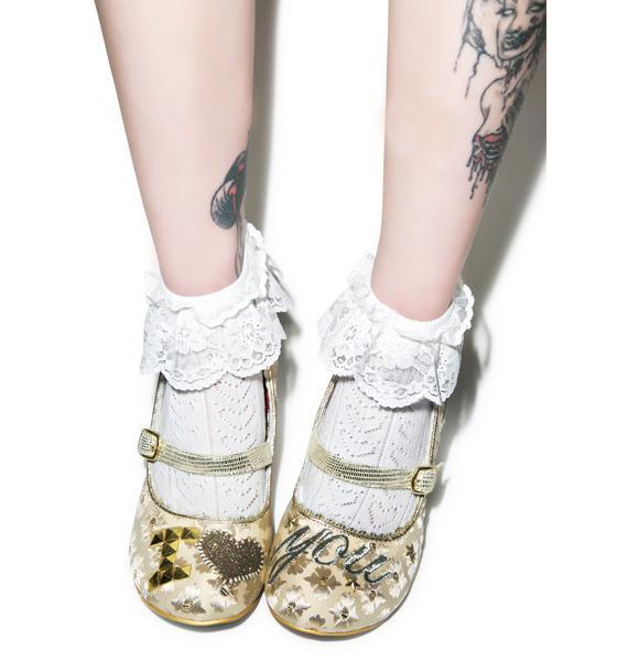 Irregular Choice I Love You Heels