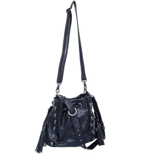 Skulleton Queen Leather Bag