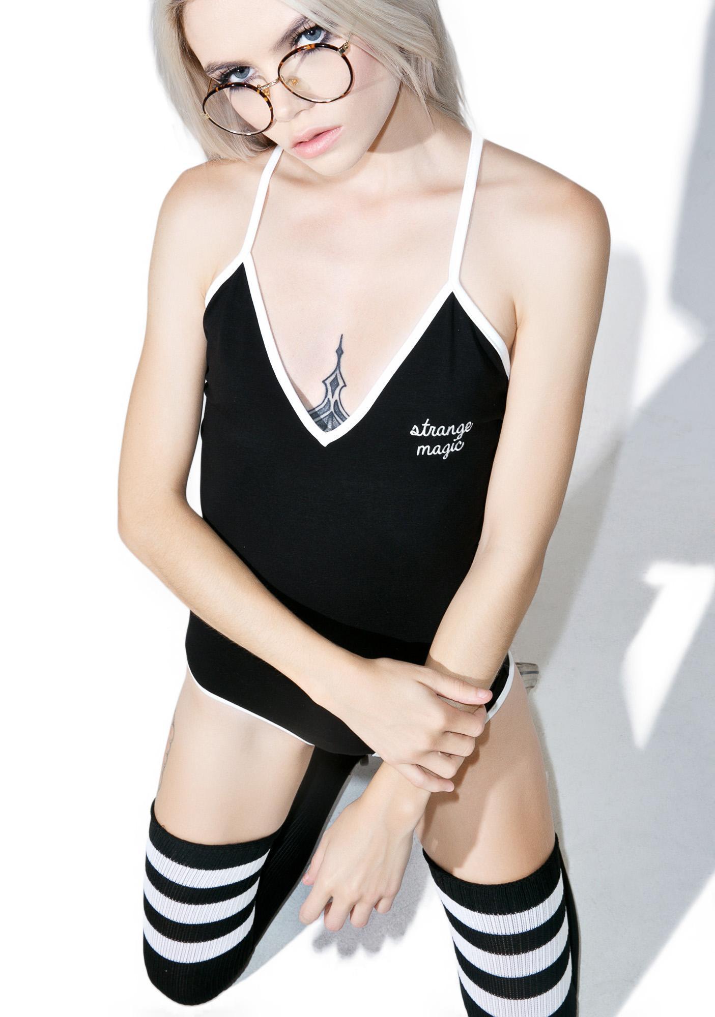 Camp Collection X Dolls Kill Strange Magic Bodysuit