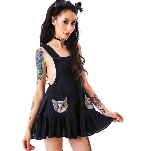 Wildfox Couture Cat Pockets Little Apron Tank