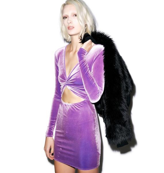 Motel Kim Twist Bodycon Dress