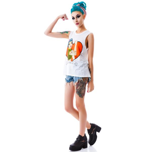 Valfré I Can I Will Muscle Tee