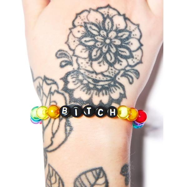 Bitchin Bead Bracelet