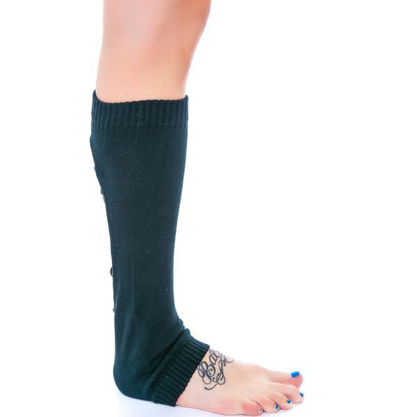 Lacey Nightz Corset Leg Warmers
