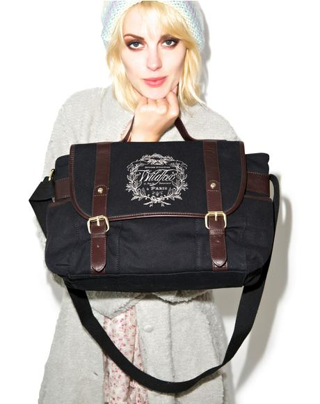 Paris Country Crest Messenger Bag