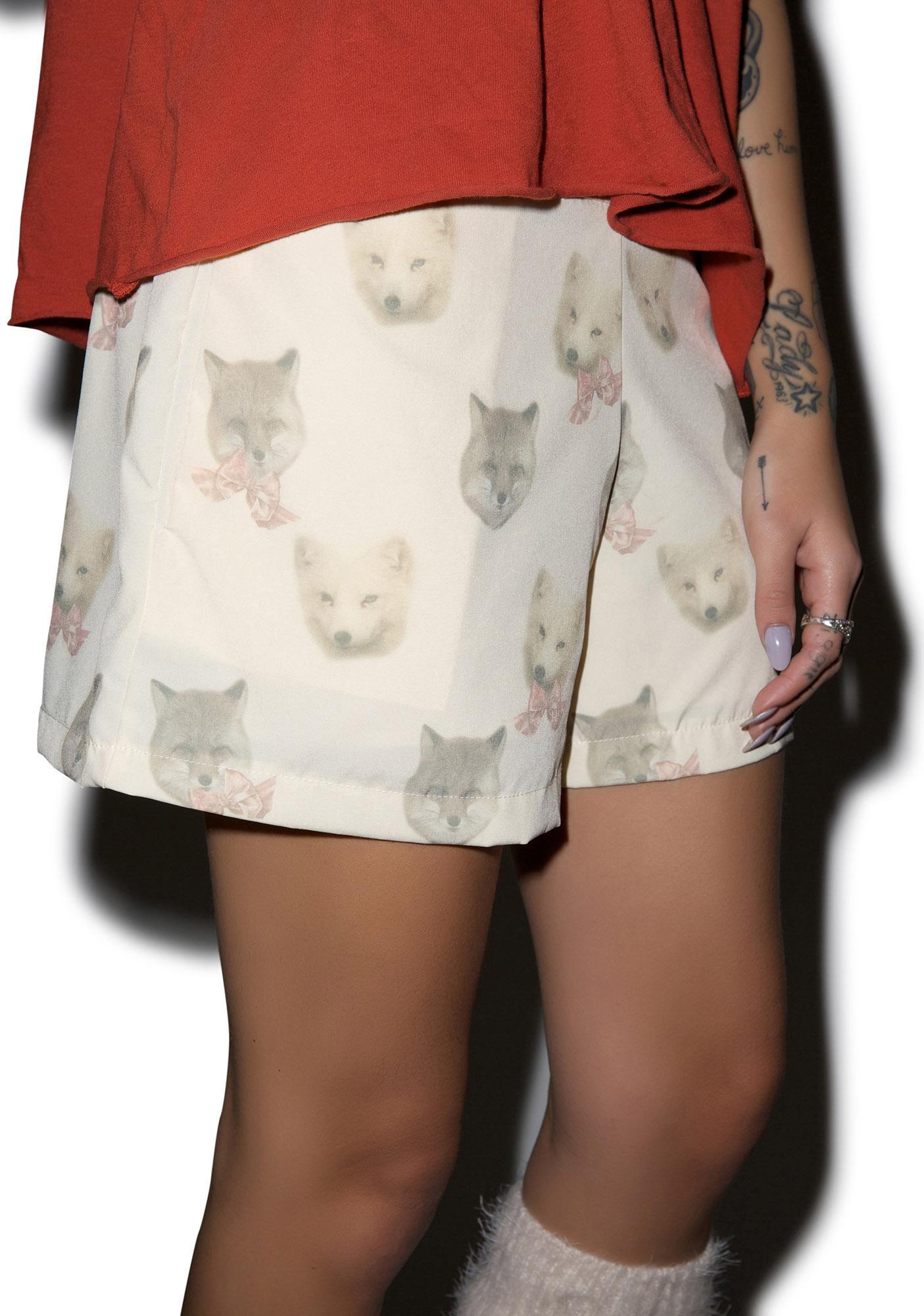 Stay Foxy Shorts