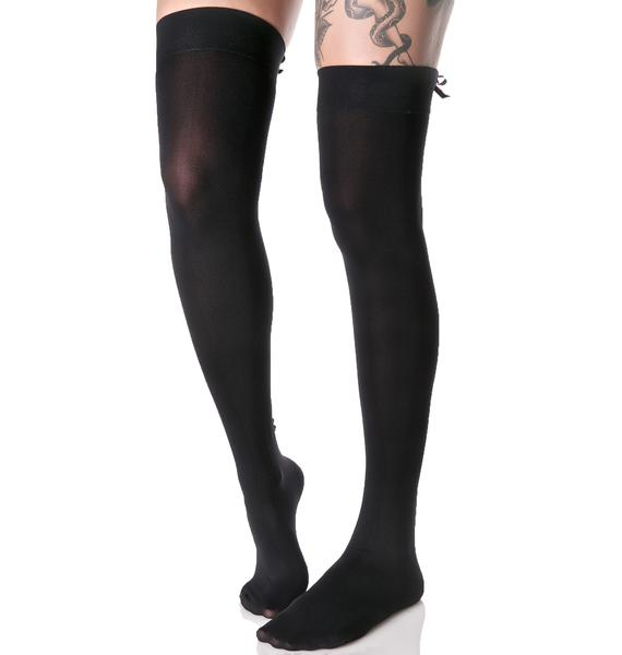 Backseam BB Thigh Highs