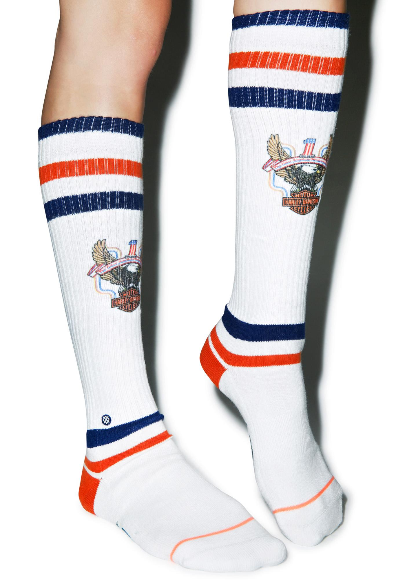 Stance x Harley Davidson Historic Knee High Socks