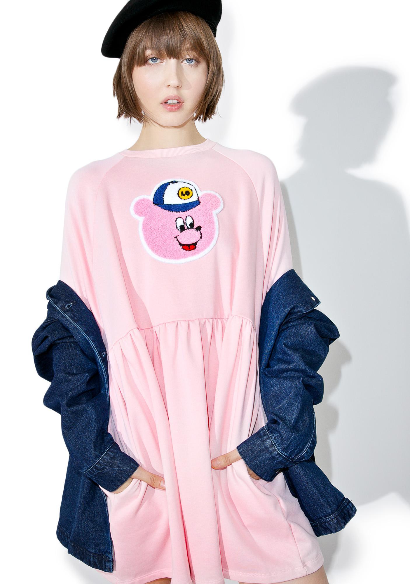 Lazy Oaf Lo Bear Sweater Dress