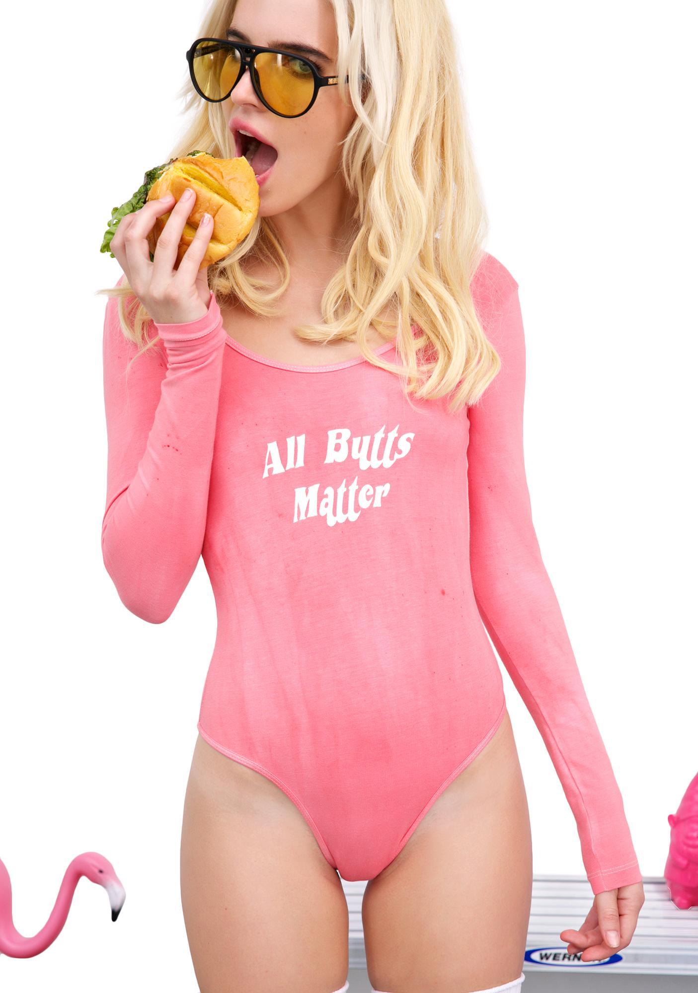 Burger And Friends All Butts Matter Bodysuit