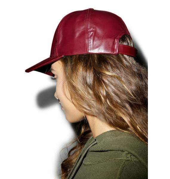 Oxblood Hat