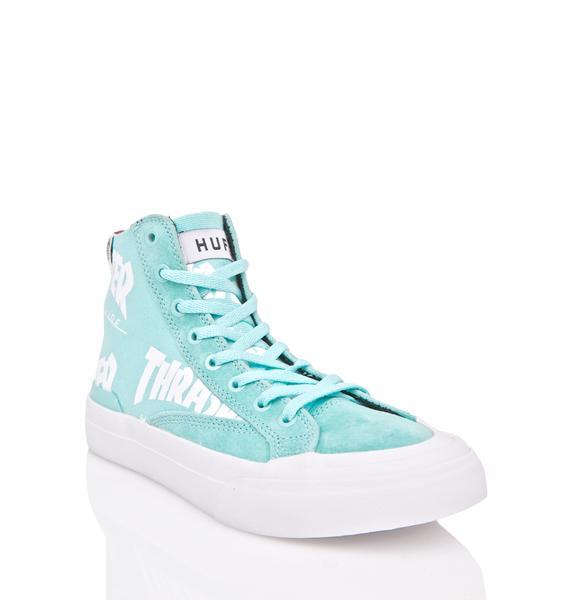 HUF X Thrasher Classic Hi Sneakers