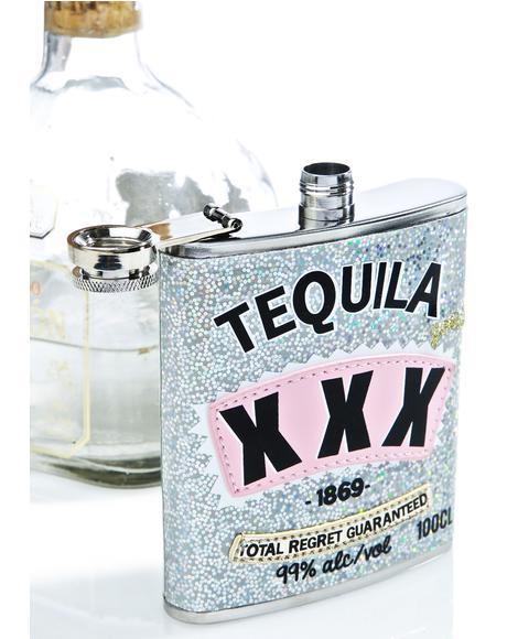 Tequila XXX Flask