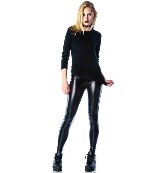 Devil's Playground Leather Leggings