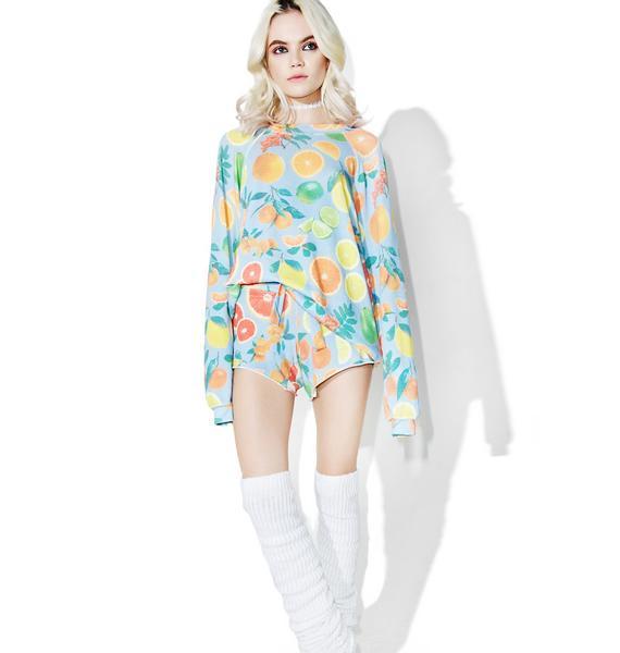 Wildfox Couture Fresh Citrus Cutie Shorts