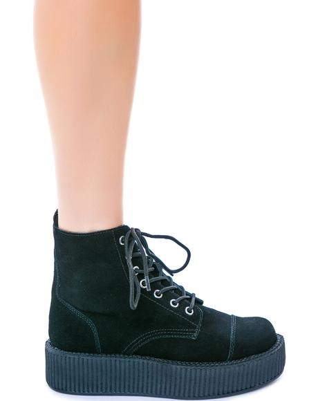 Suede 7 Eye Mondo Creeper Boot