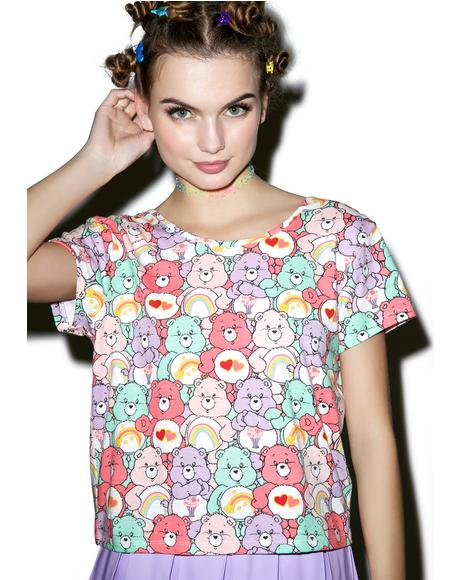Grin and Bear It Bow Back Tee