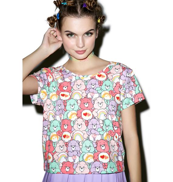 Iron Fist Grin and Bear It Bow Back Tee