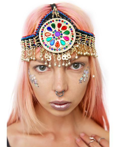 Greta Bohemian Headpiece