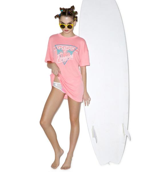 Wildfox Couture Vacation Mode Favorite Tee