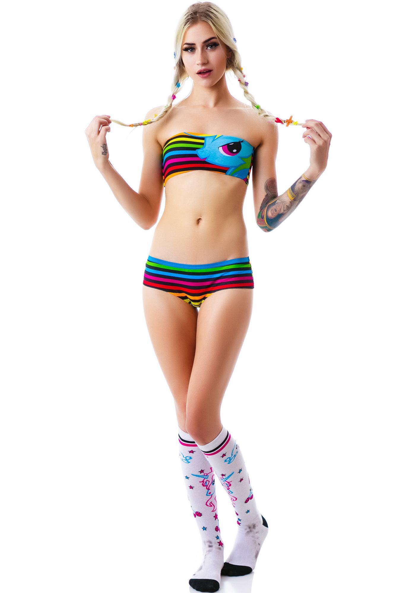 Undergirl Rainbow Dash Little Pony Panty