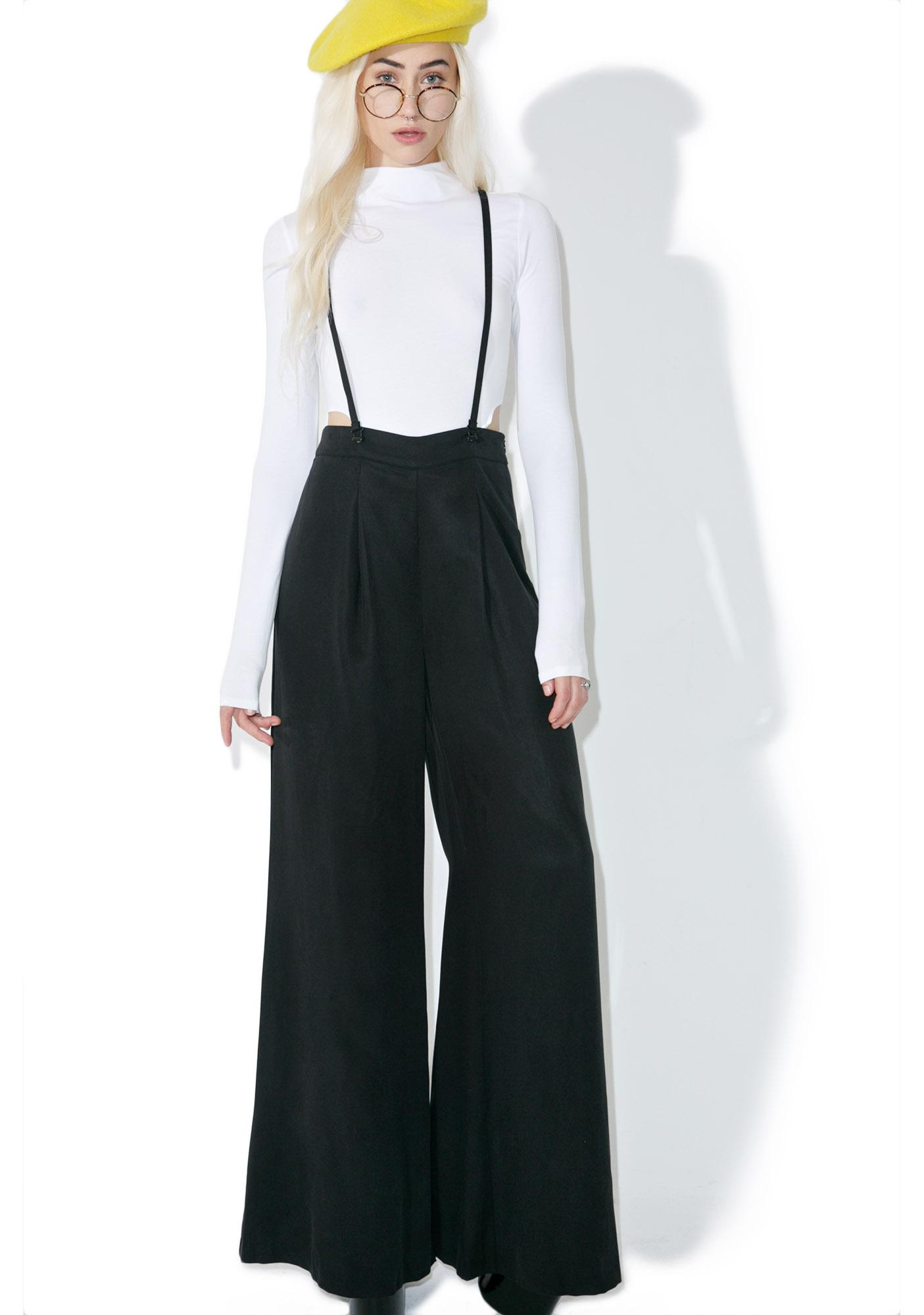 Kendall + Kylie Suspender Culottes