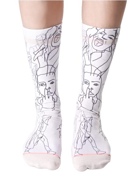 Faces Socks