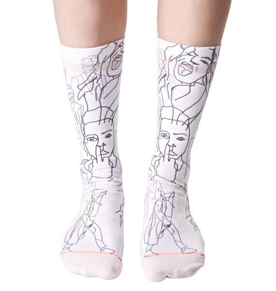 Stance Faces Socks