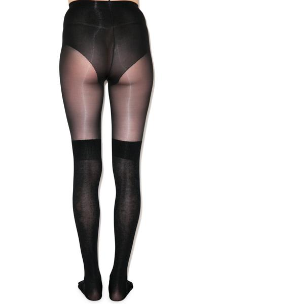 Pretty Polly Secret Socks Over The Knee Sock Tights
