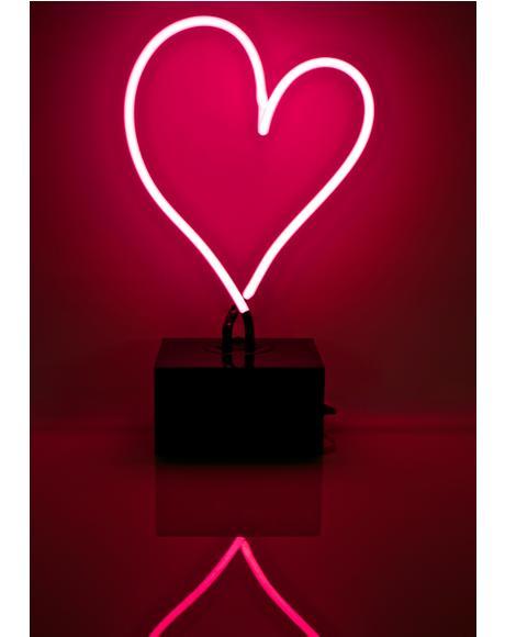 Heart Neon Light