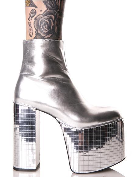 Disco's Not Dead Platform Boots