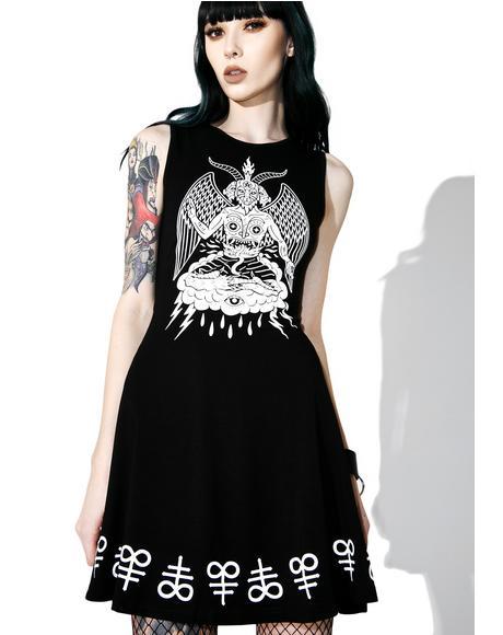 In Like Sin Skater Dress