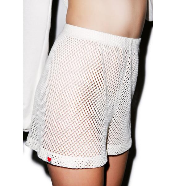 Wildfox Couture Classic Mesh Shorts