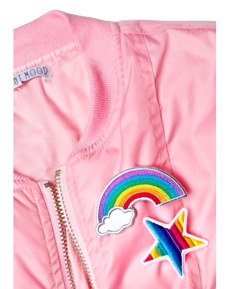 Rainbow Star Pin