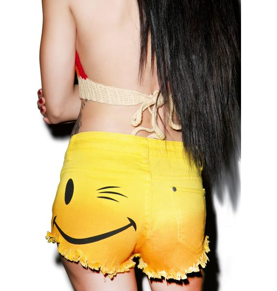 Smiley Shorts