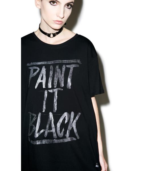 Iron Fist Paint It Black Tee