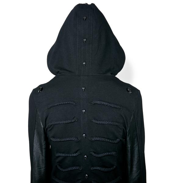 Punk Rave Black Parade Zip-Up Bomber