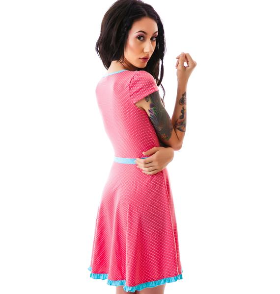 Sourpuss Clothing Patsy Sweet Sailor Dress
