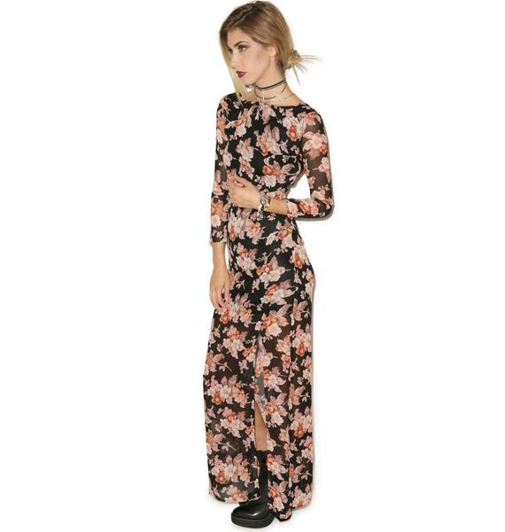 For Love & Lemons Autumn Maxi Dress