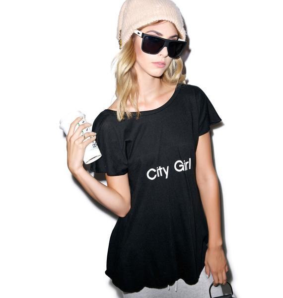 Wildfox Couture City Girl Victorian Crewneck Tee