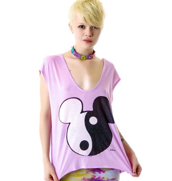 Junk Food Clothing Mickey Ying Yang