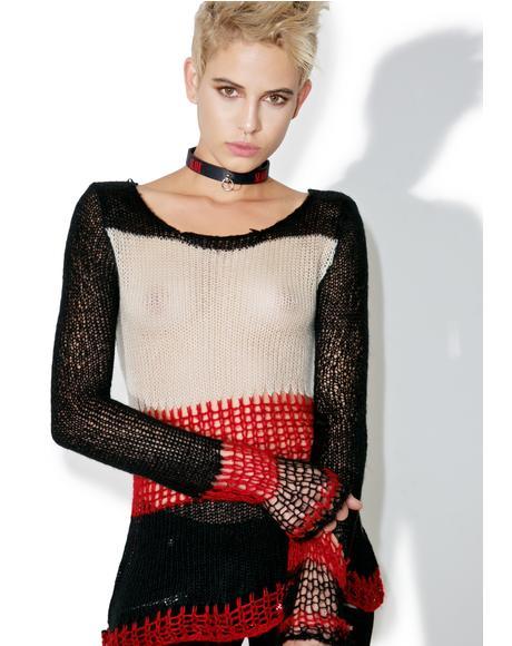 Striped Punk Sweater