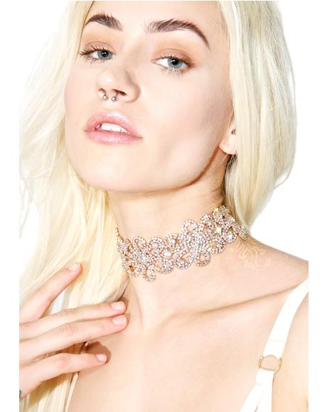 Gilded Girl Ornate Choker