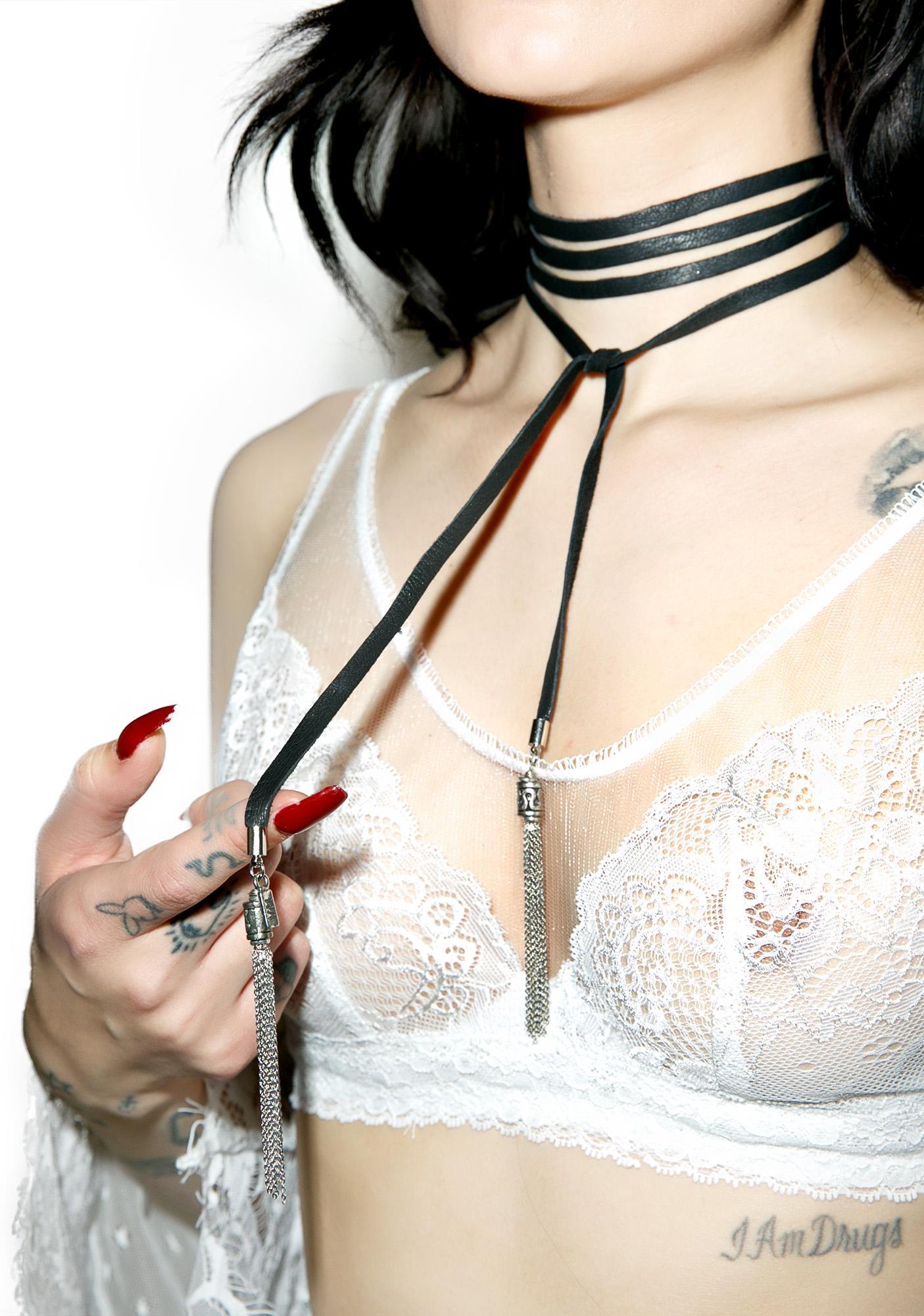 Vanessa Mooney The Demi Bolo Choker