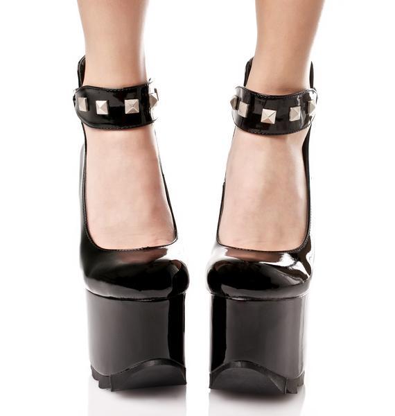 Demonia Fetish Girl Platform Heels