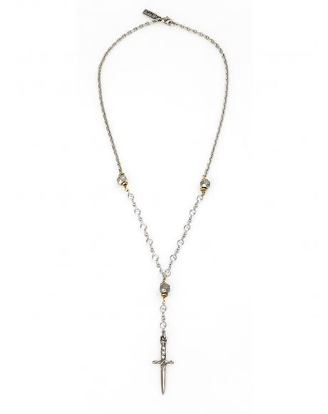 The Palladium Rosary Necklace