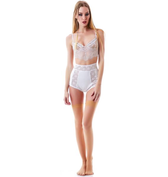 For Love & Lemons Bat Your Lashes Underwire Bra