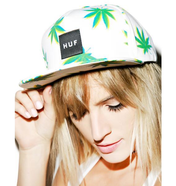HUF 3D Plantlife Snapback