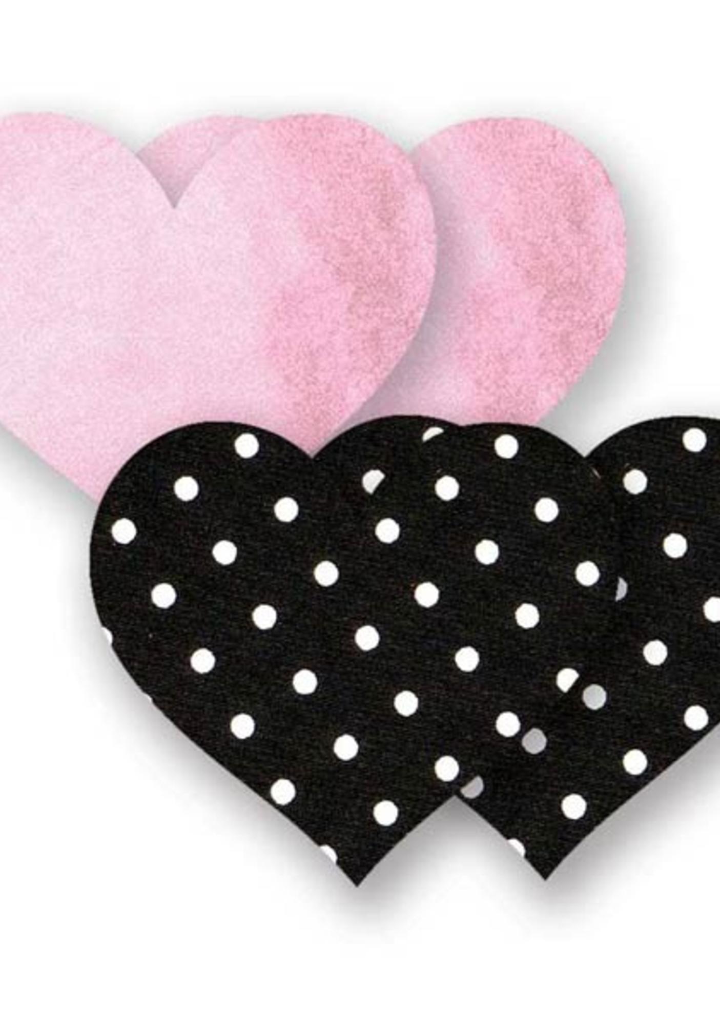 Bristols Six Pretty in Pink Heart Nippie