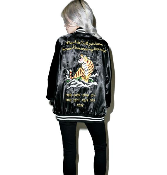 Civil Clothing Le Tigre Satin Jacket